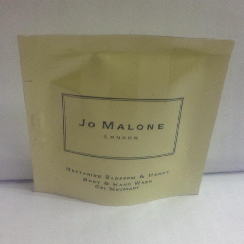 Jo malone shower oil 沐浴精油7ml 試用包(杏桃、牡丹、黑莓、海鹽)
