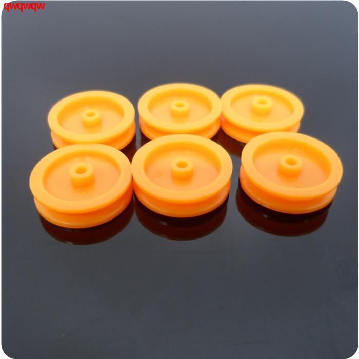 訂單滿199出貨皮帶輪 皮帶 傳動帶 馬達同步帶輪 塑料  DIY模型玩具直徑16.8mm