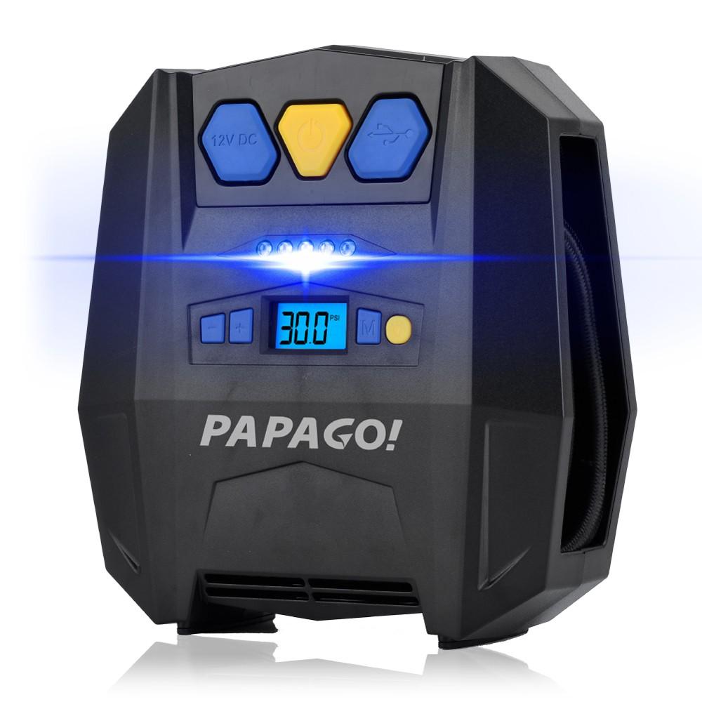 [現貨]PAPAGO!i3智能高速打氣機
