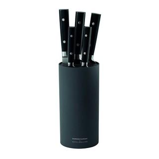 預購 英國 Royal Doulton Gordon Ramsay 戈登拉姆齊刀具六件組 含刀架桶