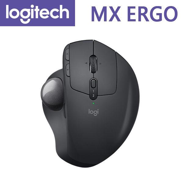 【含稅-公司貨】Logitech 羅技 MX ERGO 無線軌跡球 藍芽 / Unifying