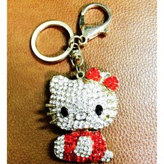 Hello Kitty鑽石鑰匙圈