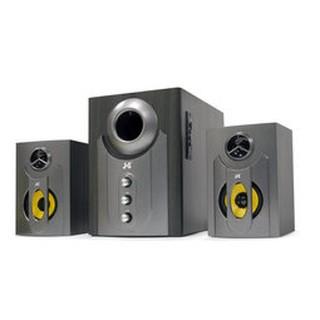 JS JY3002BT 藍牙無線喇叭 三件式木質音箱#