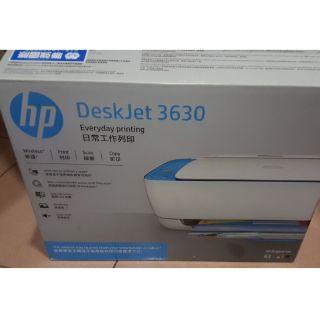 HP DeskJet 3630 無線噴墨複合機