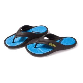 牛頭牌 中性款 好樂夾腳拖鞋 藍色 台灣製造 夾腳/人字/沙灘拖鞋【台灣鞋會】