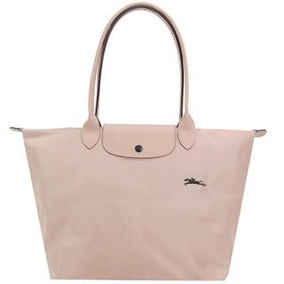 Longchamp 法國 70週年限定 長柄折疊大款 山楂粉 水餃包 折疊手提包 肩背包 斜背