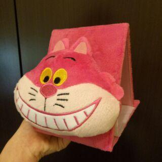 迪世尼笑面貓-立體絨毛三折鏡