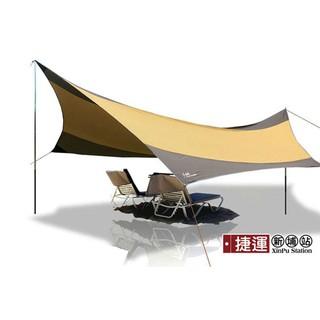 遮陽防水碟形天幕帳蓬5.5*5.6m
