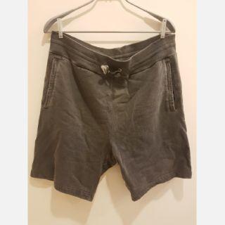 Supreme灰色洗舊短褲