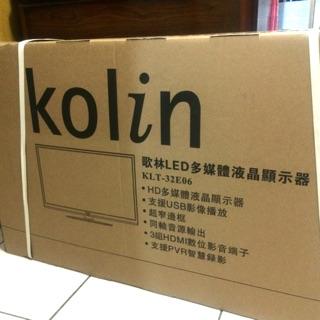 Kolin 歌林 32吋多媒體液晶顯示器KLT-32E06