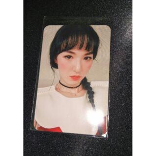 Red Velvet Rookie 台壓 專輯小卡 Wendy 孫承完