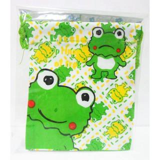 青蛙束口袋束口包小袋子旅行收納