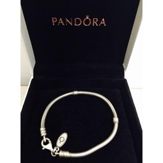 Pandora 潘朵拉 / 經典手鍊 手環 純銀手鍊 基本手鍊 / 二手