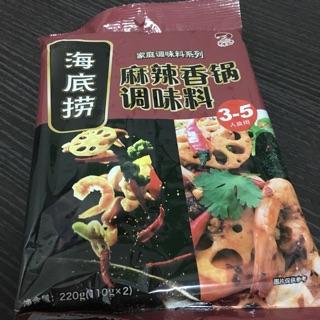 海底撈 麻辣香鍋 調味湯底 220g