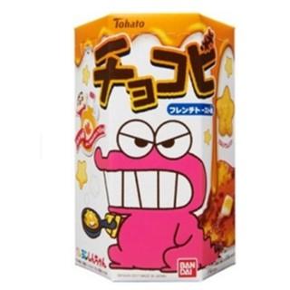 Tohato 東鳩 鱷魚餅乾 蠟筆小新 法式麵包味 法式吐司味道 小熊餅乾 25g