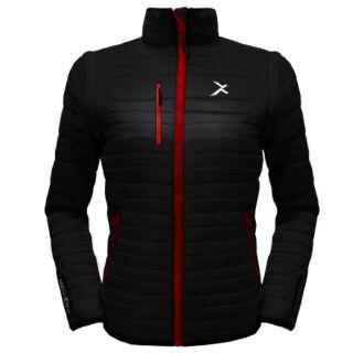 ☆EGXtech 3月份活動促銷 75折☆UV-2W 女款變色龍2 IN 1高效保暖外套(黑/紅)