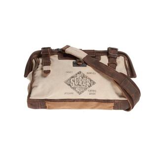 正品 絕版限量 極度乾燥 Superdry Medics Bag 手提包 醫生包 救護包 真皮 帆布 側背包