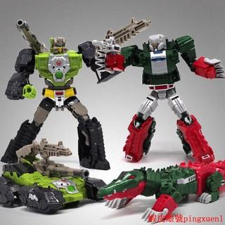 【熱銷新品】威將變形玩具金剛5頭領戰士 老頑固飛鱷龍小諸葛 變形機器人模型