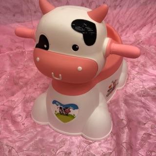 小牛造型尿桶(有音樂哦!)