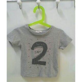 ▌夏日二手童裝on sale_夏日t桖大作戰之只要我長大我兩歲了T-shirt夏日二手童裝60元任三件,優惠價150元