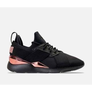 Puma Muse 2018新款 黑色x玫瑰金 女鞋