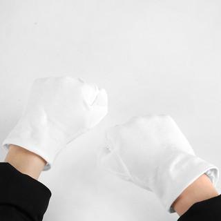 攝影白手套 優質純棉拍攝手套 清潔無指紋白色手套 攝影道具推薦