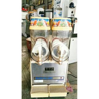 二手家具全省收購(大台北冠均 五股店)二手貨中心--雙槽攪拌式雪泥機 思樂冰機 冰沙機Z-092702
