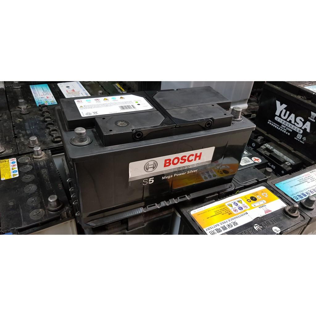 (二手中古電池) BOSCH 60044 DIN100 歐規100AH 汽車電池 數值漂亮,品項優 歐系車專用
