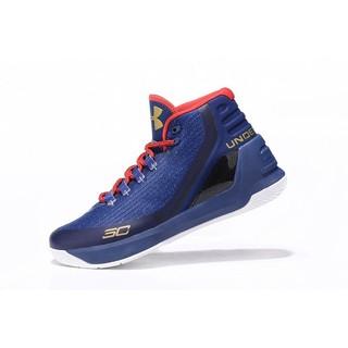 Under Armour Curry 3 UA  庫里3代 高筒籃球鞋 寶藍紅 男款