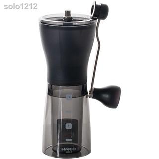 ♗HARIO磨豆機咖啡豆研磨機手搖磨粉機迷你便攜家用手磨咖啡機MSS