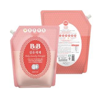 韓國進口B&B/保寧嬰兒洗衣液 新生嬰兒寶寶專用洗衣液香草型1.3L