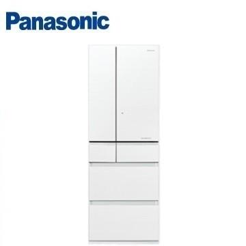 送真鍋 Panasonic 500公升 六門 變頻 玻璃 冰箱 NR-F503HX-W1 翡翠白