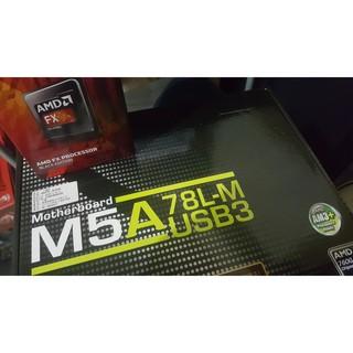 AMD FX8320E + M5A78L-M + 16G + GTX750TI