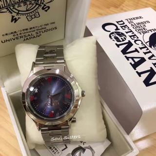 ✨現貨✨Soul Sisters日本代購環球影城 絕版 限定 名偵探柯南 麻醉針手錶