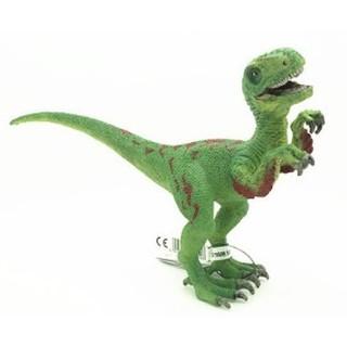[協貿國際]   野生動物恐龍模型綠色伶盜龍迅猛龍 1入