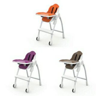 馬克文生ORIBEL-時尚機能高腳餐椅(橘色/紫色/棕色)