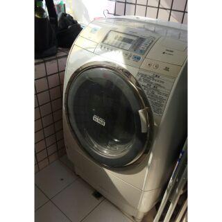 (清洗)洗脫烘~日立11公斤滾筒洗衣機(SF-BD2700T)拆解清洗
