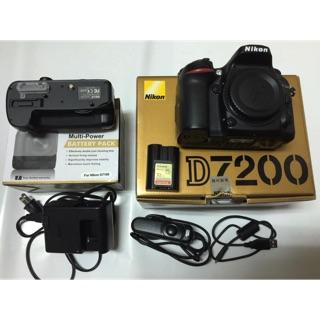 D7200 單眼相機 九成新 全配