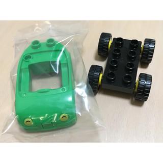 樂高 得寶 零件 綠色 車|LEGO duplo Green Car