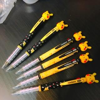 韓國神奇寶貝 寶可夢皮卡丘三色筆原子筆