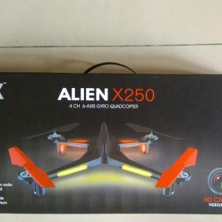 Alien X250 偉立 四通六軸空拍機 無人機 含5.8G 搖控器 攝影機