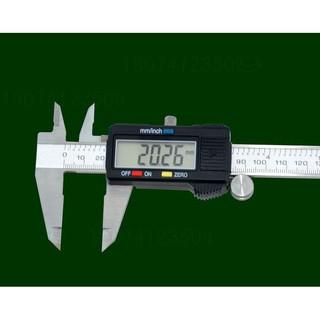 振宇の~432~200mm游標卡尺電子式游標卡尺工業用尺 0~200mm LCD數位游標卡尺 粗細/厚度/直徑測量尺