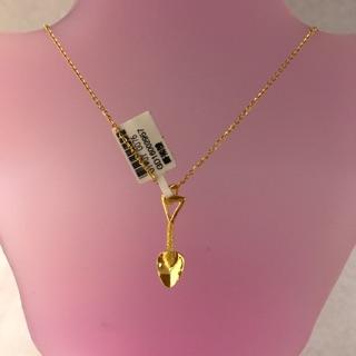 景福珠寶銀樓✨純金✨黃金造型可愛鏟子墜子