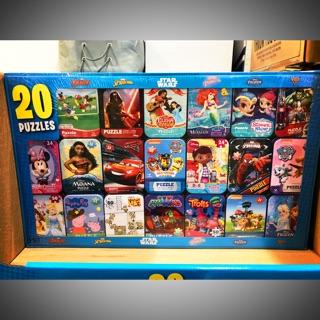 現貨。零售專區好市多Costco~迪士尼Disney 鐵盒拼圖
