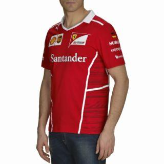 Scuderia Ferrari 2017 Team Sebastian Vettel T恤