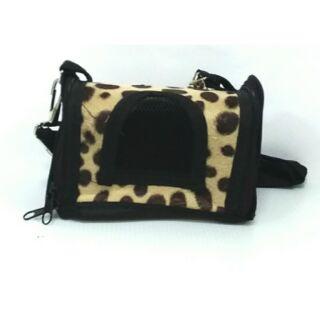 蜜袋鼯外出包-豹紋系點點