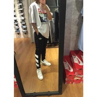全新正品 adidas Originals Skinny AJ7673 愛迪達 陳奕迅 小春 窄版 運動長褲 黑