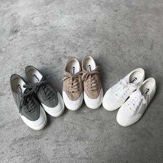 韓國 ollie帆布鞋