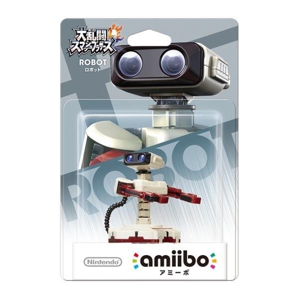 Wii U 任天堂明星大亂鬥 近距離無線連線 NFC 連動人偶 amiibo 機器人 ROBOT