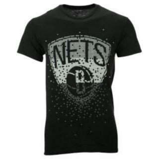 Brooklyn Nets NBA Men's Tetris T-ShirtL